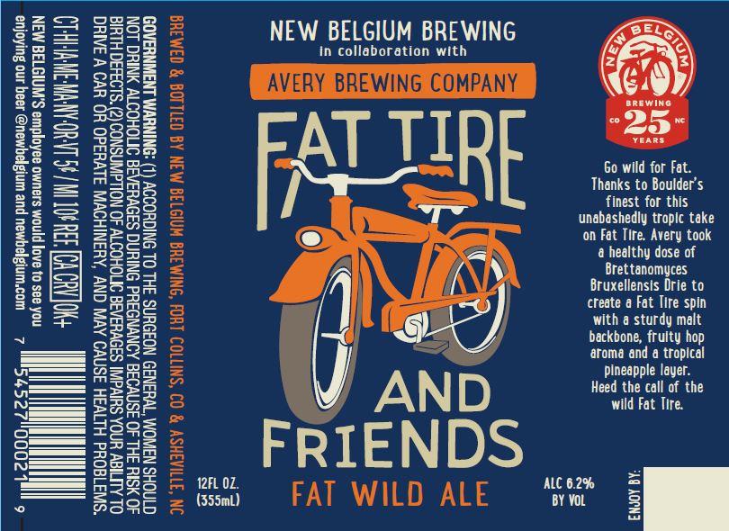New Belgium Fat Wild Ale