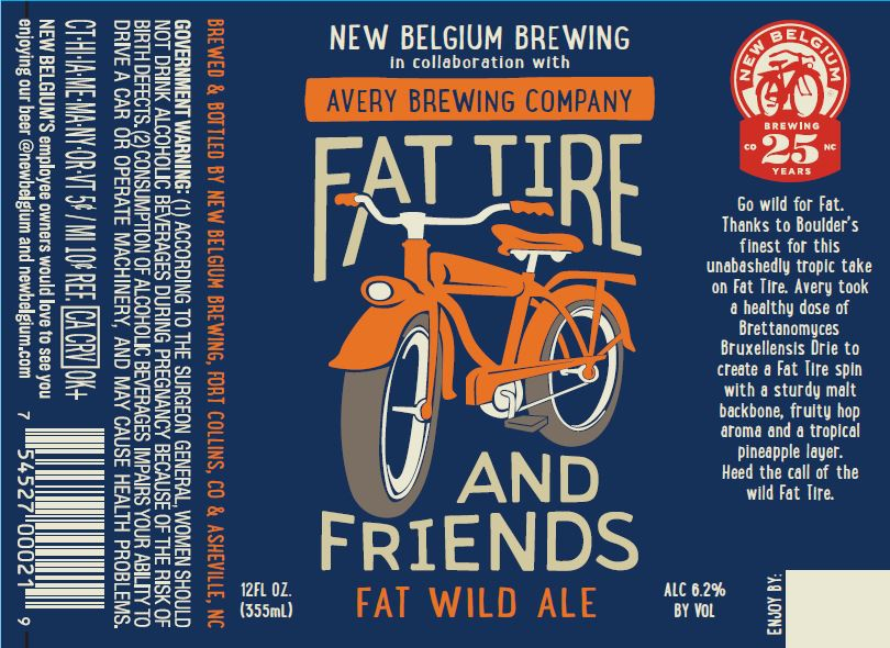 New Belgium Fat Wild Ale