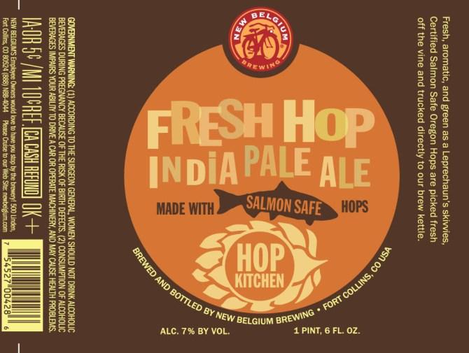 New Belgium Hop Kitchen Fresh Hop IPA