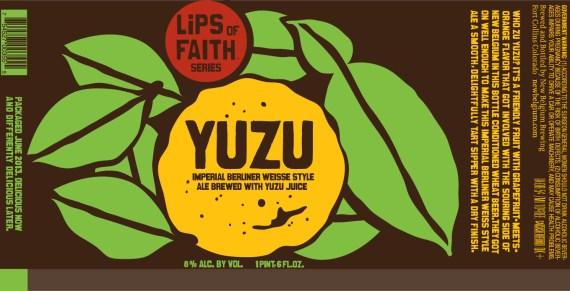 New Belgium Lips of Faith Yuzu