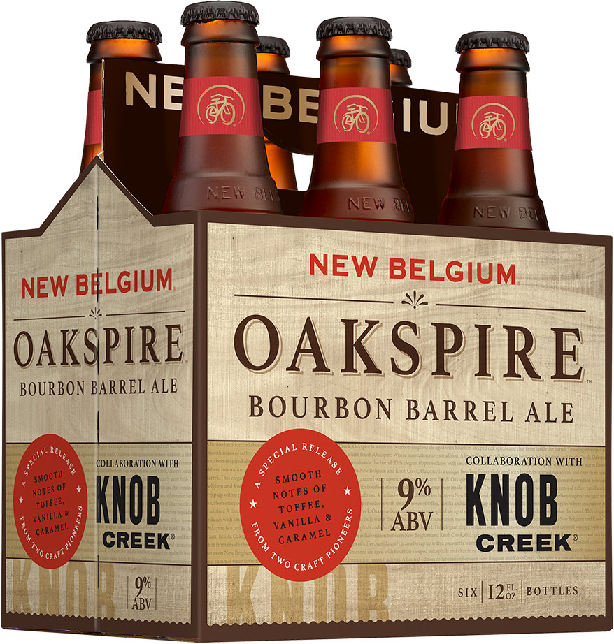 New Belgium Oakspire Bourbon Barrel Ale