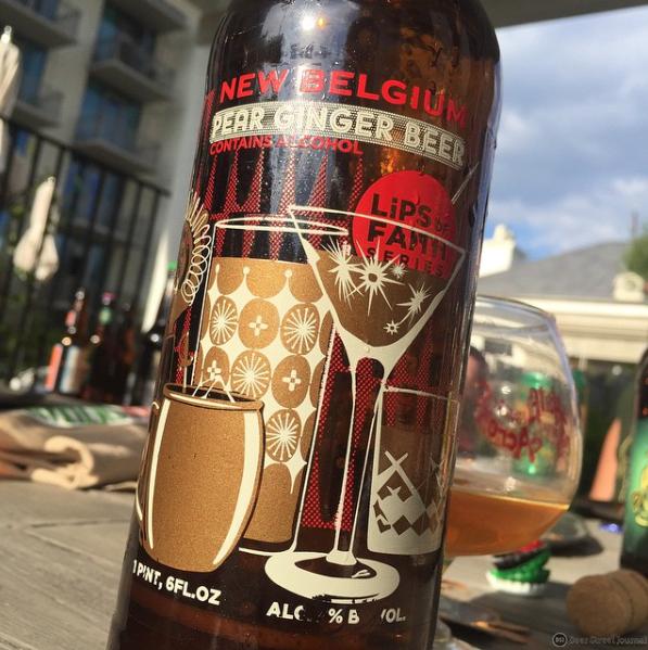New Belgium Pear Ginger Beer