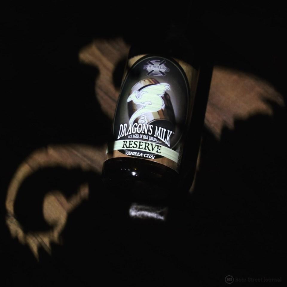 New Holland Dragon's Milk Reserve Vanilla Chai