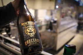 "To celebrate the opening, Mitch Steele brewed a triple IPA ""Radegast"""