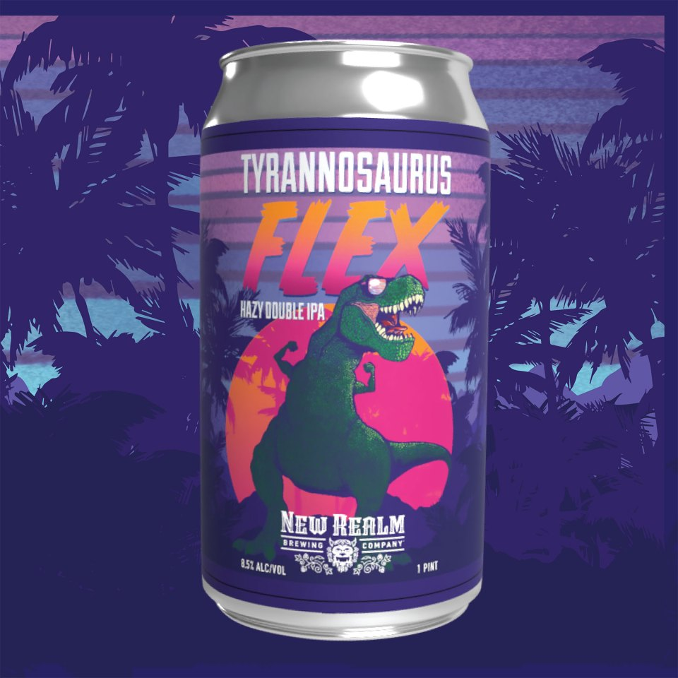 New Realm Tyrannosaurus Flex