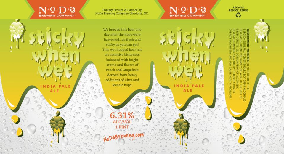 NoDa Sticky When Wet