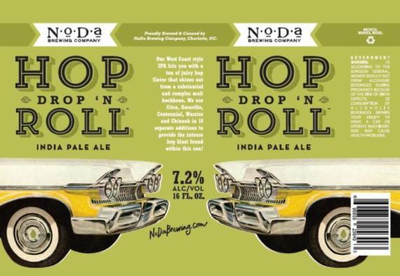Noda Hop Drop in Roll Cans
