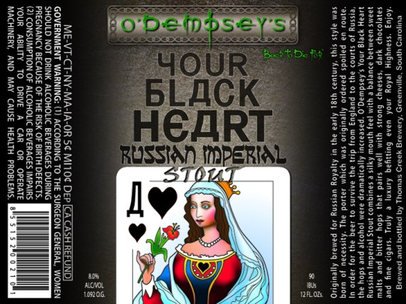O'Dempsey's Your Black Heart