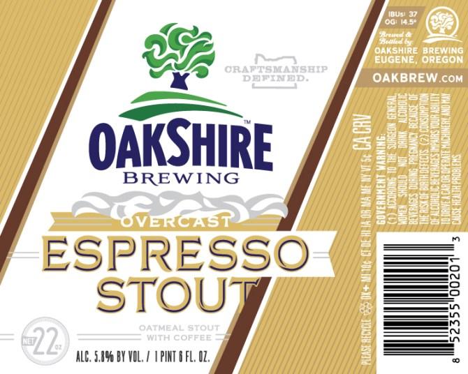 Oakshire Overcast Expresso Stout