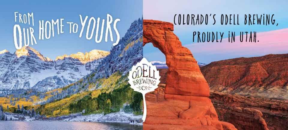 Odell Brewing Utah Distribution