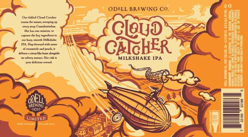 Odell Cloud Catcher Milkshake IPA