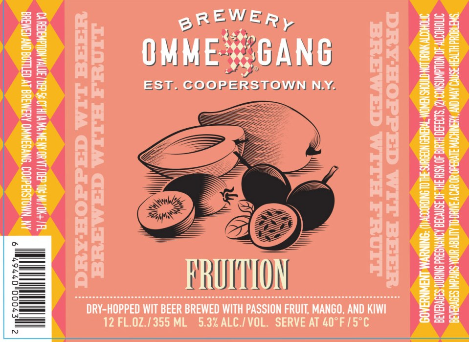 Ommegang Fruition