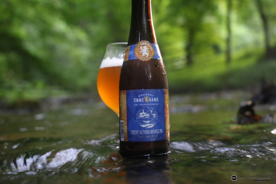 Ommegang Great Beyond Double IPA bottle