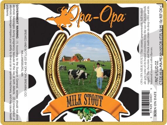Opa Opa Brewing Milk Stout
