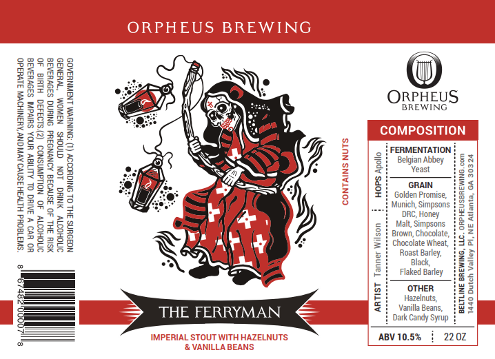 Orpheus The Ferryman Imperial Stout