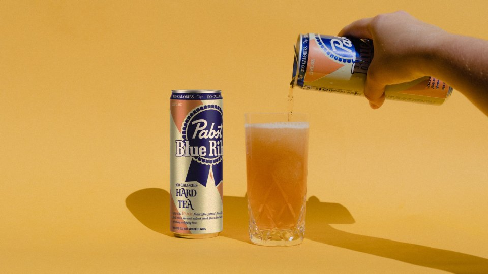 Pabst Blue Ribbon Hard Tea