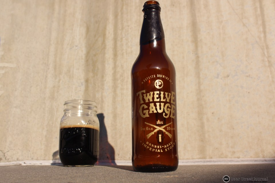 Payette Brewing Twelve Gauge bottle