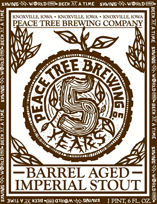 Peace Tree Barrel Aged Imperial Stout