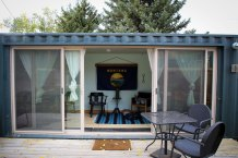 Your modular hotel room at Pine Creek Lodge