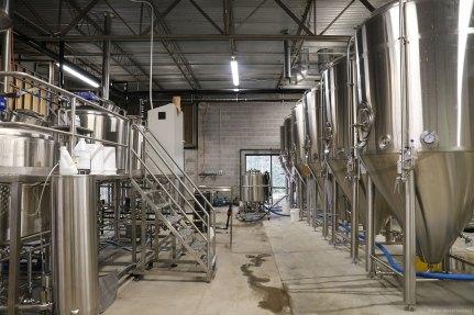 Pontoon Brewing Brewhouse