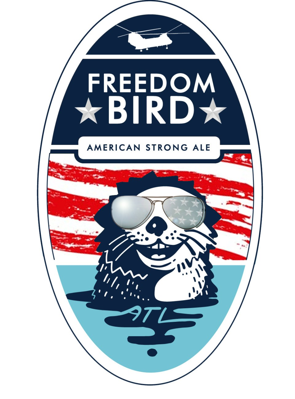 Pontoon Freedom Bird American Strong Ale