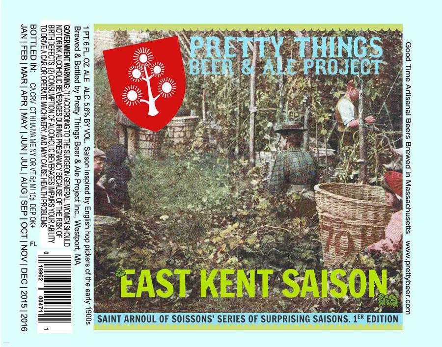Pretty Things East Kent Saison