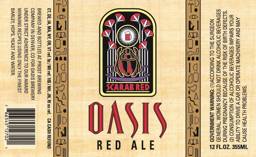 Prost Brewing Company Oasis Red Ale