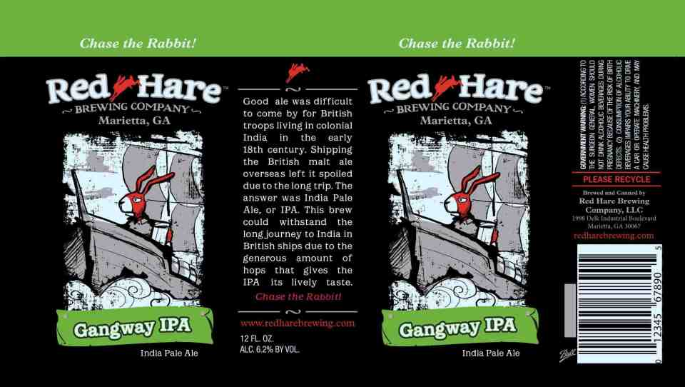 Red Hare Gangway IPA