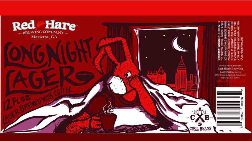 Red Hare Long Night Lager
