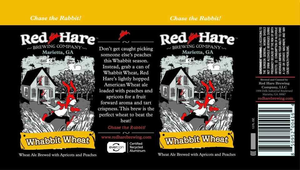 Red Hare Whabbit Wheat