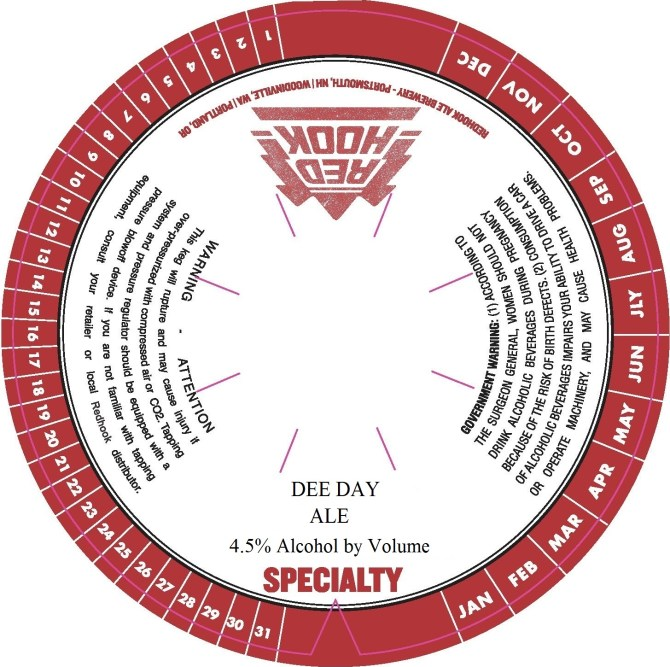 Redhook Dee Day Ale