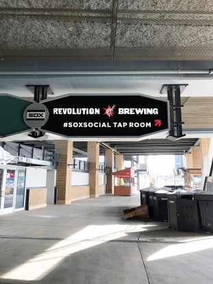 Revolution Brewing #SocialSox Taproom