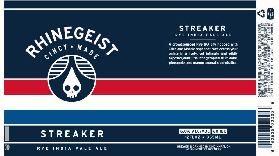 Rhinegeist Streaker Rye India Pale Ale