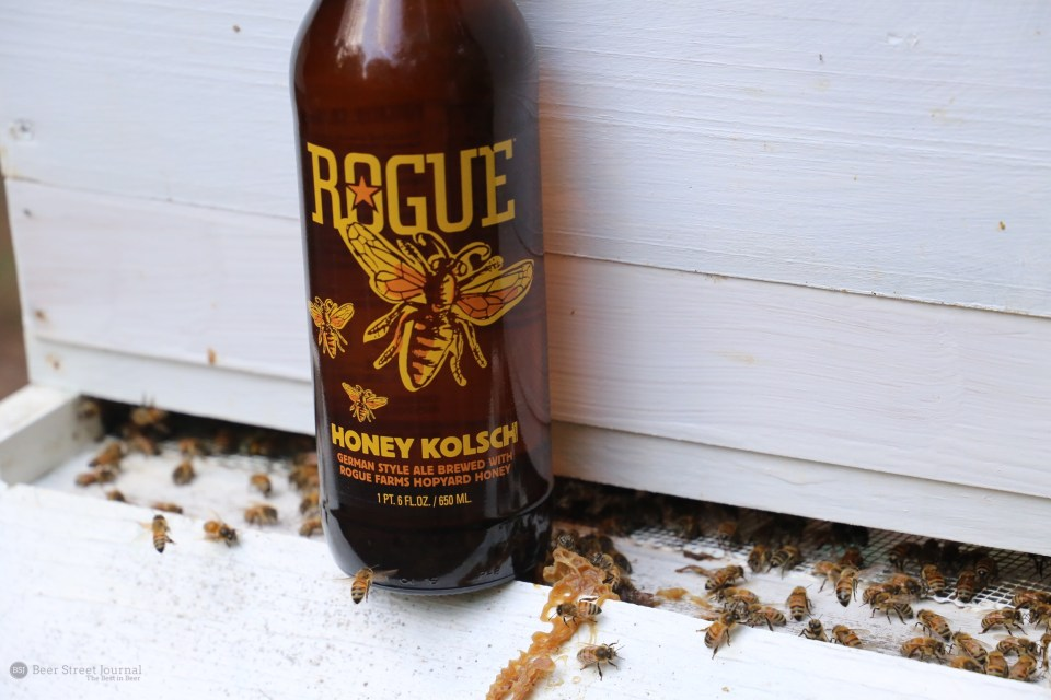 Rogue Honey Kolsch bottle