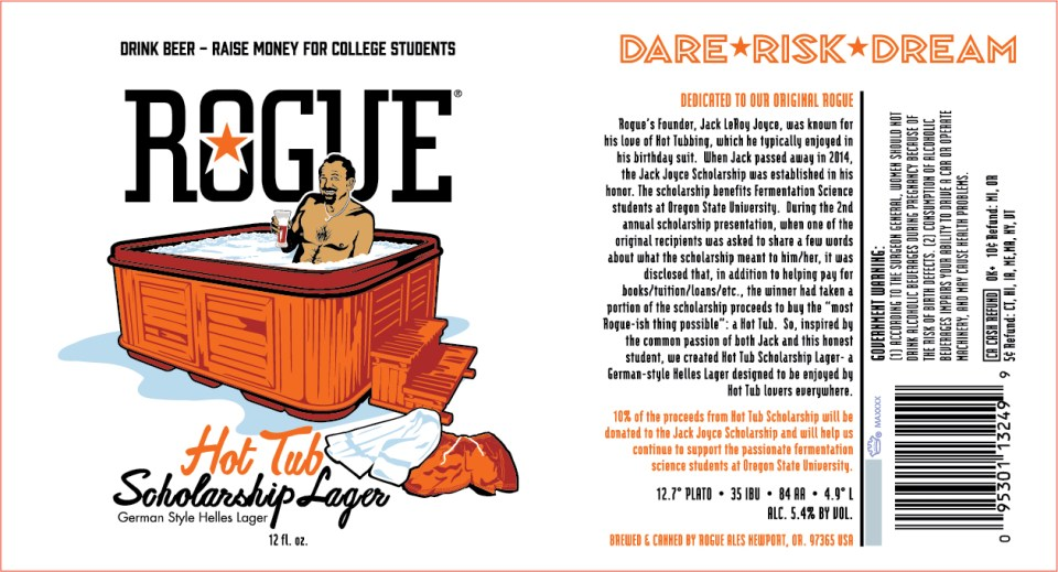 Rogue Hot Tub Scholarship