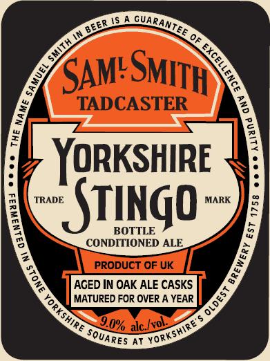 Sam Smith Yorkshire Stingo