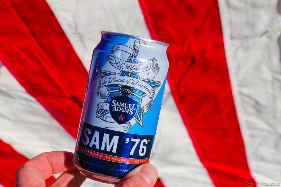 Sam Adams 76 Can