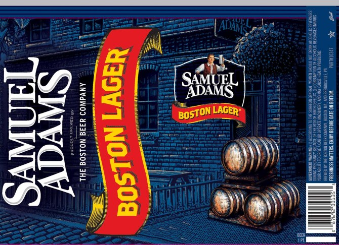 Samuel Adams 16oz Lager Cans