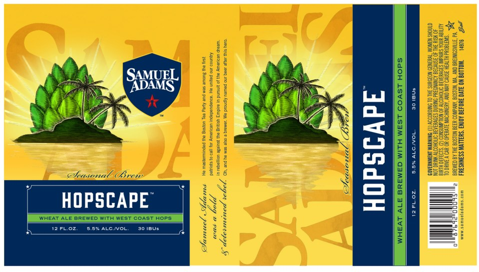 Samuel Adams Hopscape