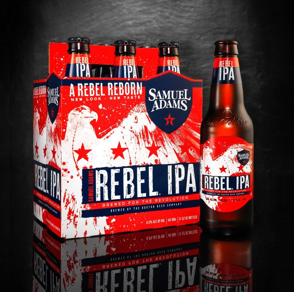 Samuel Adams Rebel IPA 2017