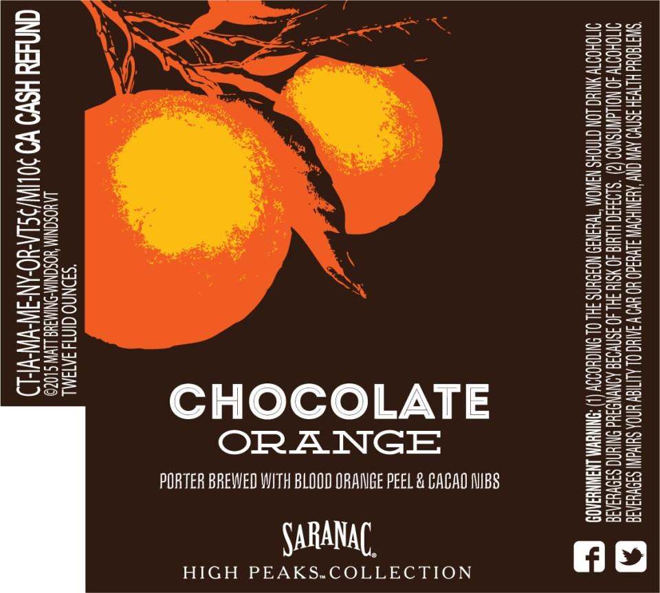 Saranac Chocolate Orange
