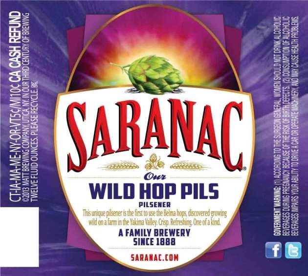 Saranac Wild Hop Pils