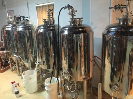 """The """"Basement"""" brewery. Pic courtesy of Scofflaw Brewing"""