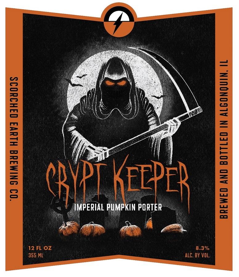 """Képtalálat a következőre: """"Crypt Keeper - Scorched Earth Brewing"""""""