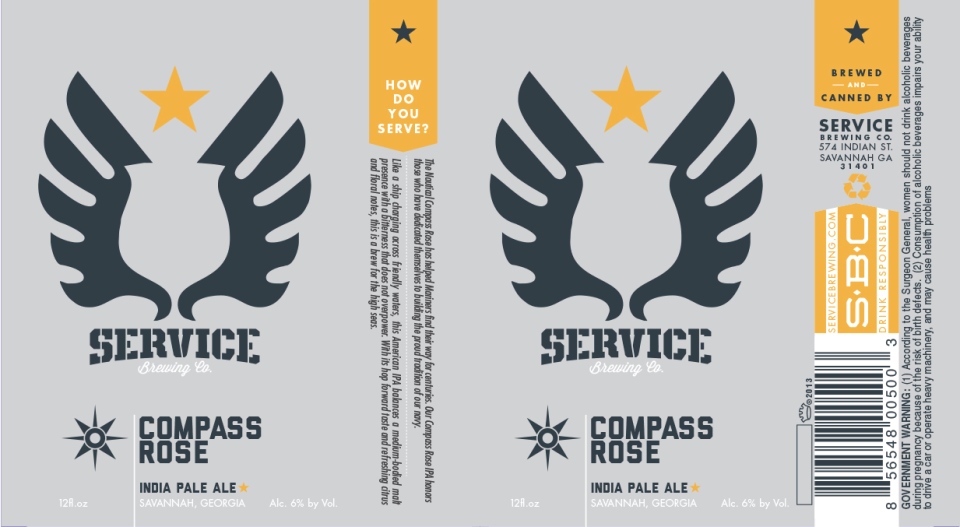 Service Brewing Compass Rose India Pale Ale