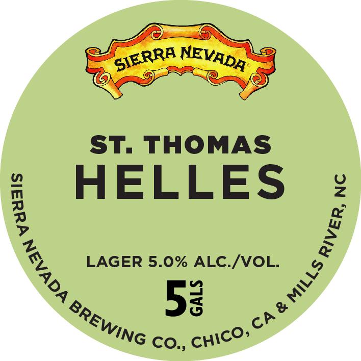 Sierra Nevada St. Thomas Helles