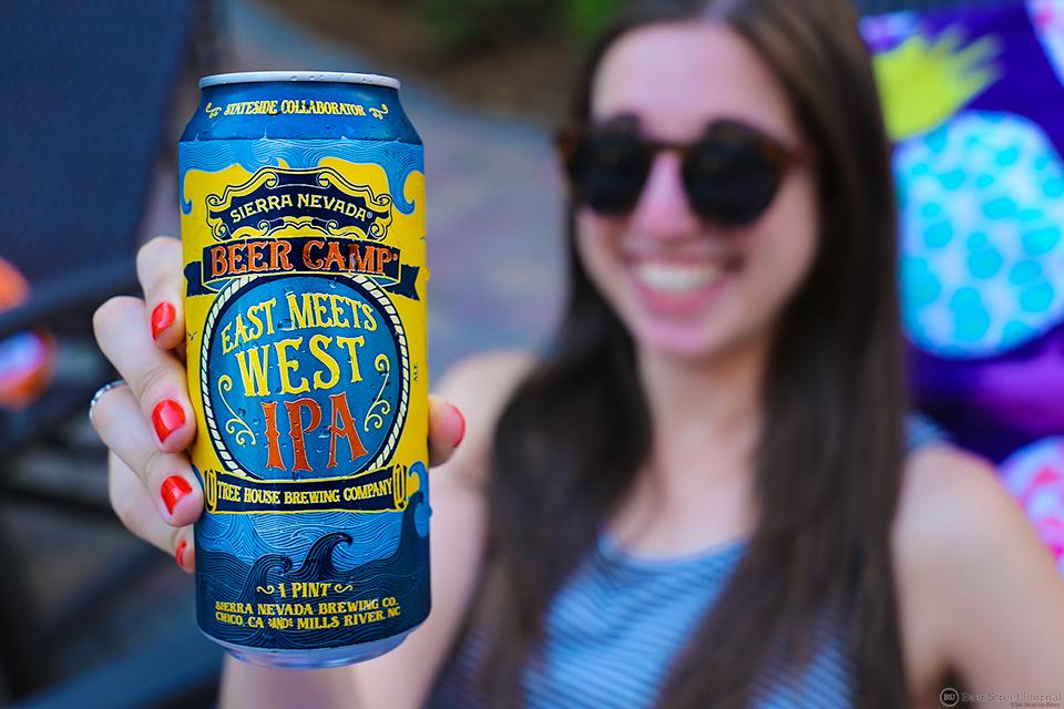 Sierra Nevada Beer Camp East Meets West IPA can