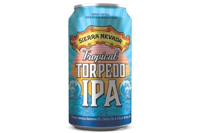 Sierra Nevada Tropical Torpedo IPA cans