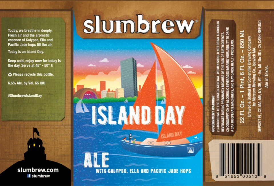 Slumbrew Island Day Ale