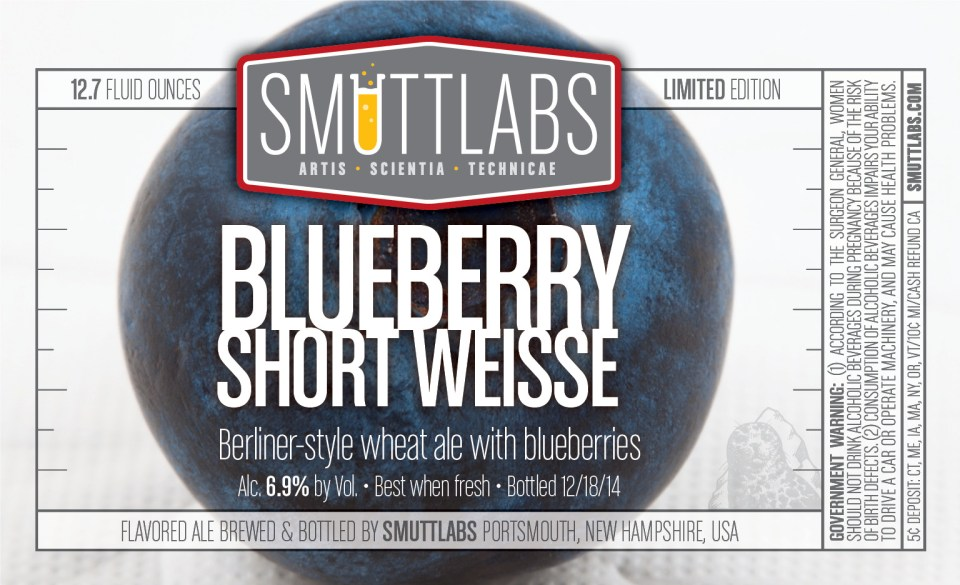 Smuttlabs Blueberry Short Weisse